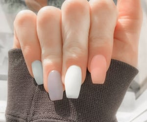 beauty, nail, and nail polish image