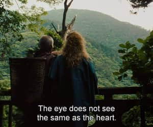 eyes, heart, and quote image