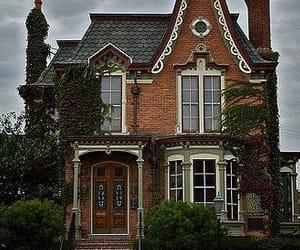 brick, dark, and Houses image