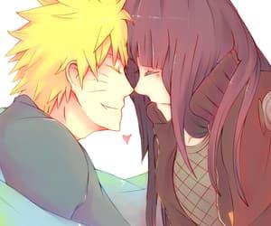 anime, couple, and hyuuga image
