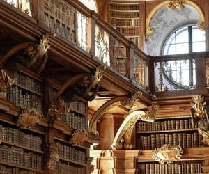 book, library, and austria image