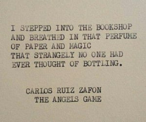 book, bookshop, and quotes image