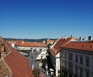 rooftop, sibiu, and bluesky ​ image