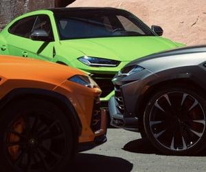 cars, Lamborghini, and SUV image