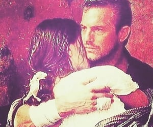 paint, kevin costner, and real love image