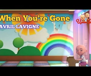 video, avril, and when you're gone image