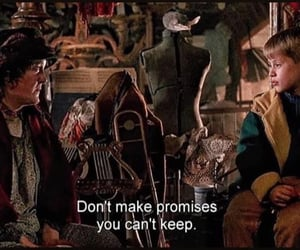 promise, quotes, and home alone image