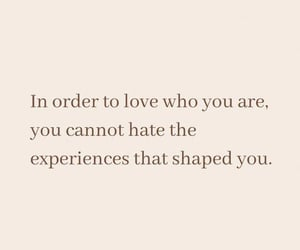 In order to love yourself .........