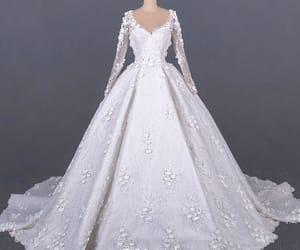 bridal, handmade wedding dress, and bridal gown image