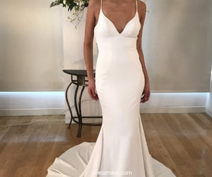 wedding dresses, fashion wedding dresses, and mermaid wedding dresses image
