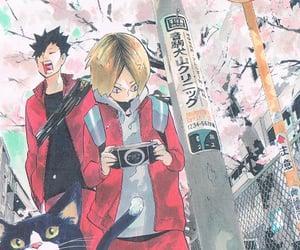 haikyuu, nekoma, and manga image