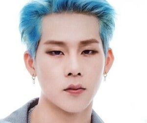 blue, kpop, and low quality image