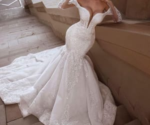 vestido de noiva, robe de mariée, and mermaid wedding dresses image