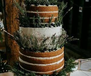 cake, wedding cake, and wedding inspirations image