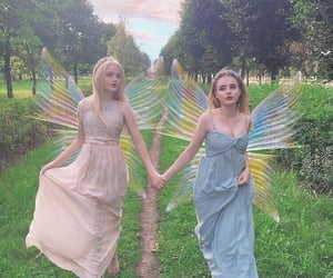 ethereal, Fairies, and fairycore image
