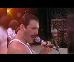 aid, concert, and Freddie Mercury image