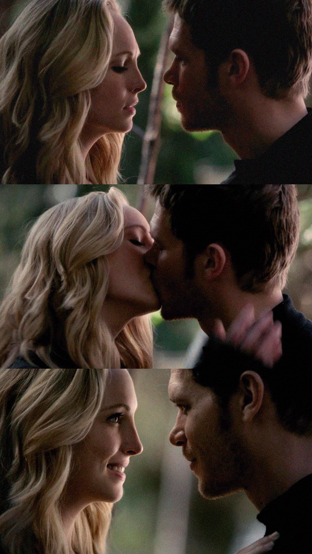 the vampire diaries and klaus & caroline image