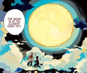 art, moon, and yashiro nene image