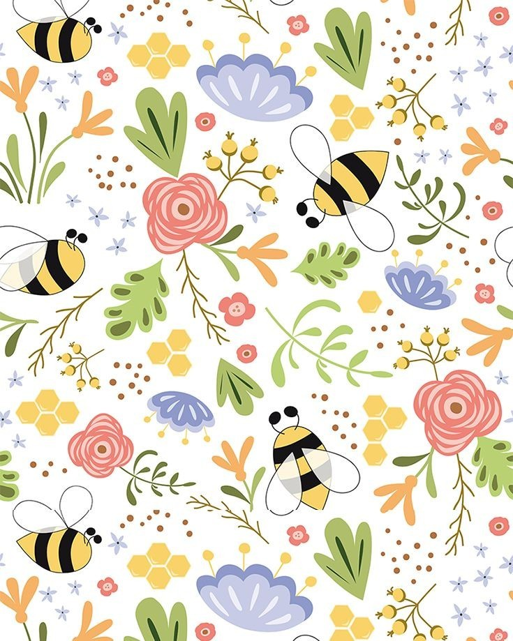background, bees, and cozy image