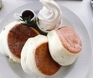 dessert, pancake, and souffle pancake image