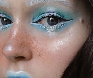 art, beauty, and blue image