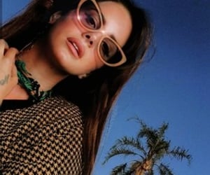 blue, shades, and sunglasses image