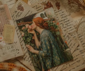 art, historical, and Letter image