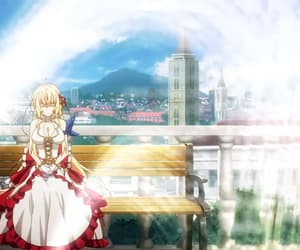 anime, blond hair, and anime girl image