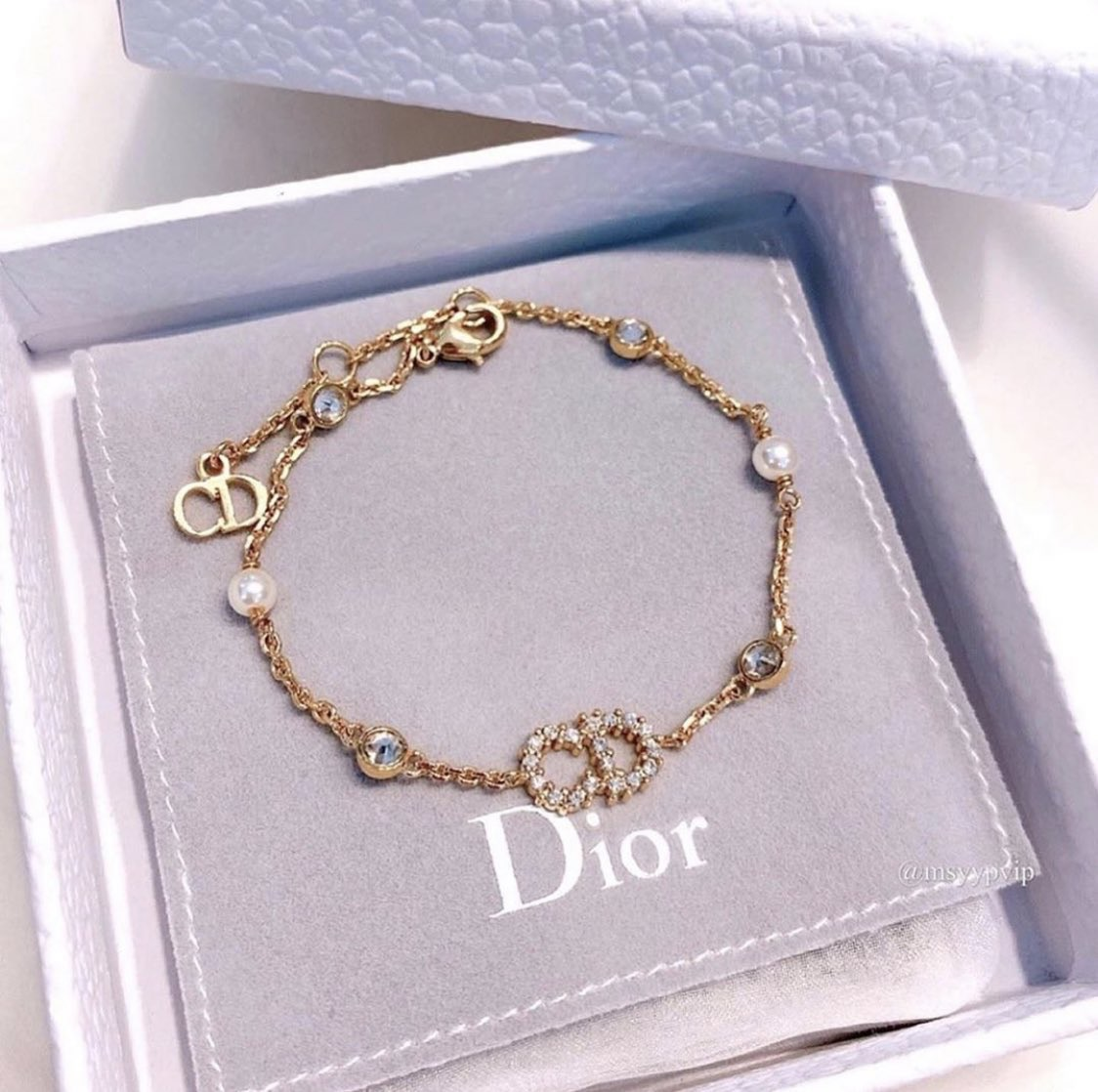 accessories, bracelet, and dior image