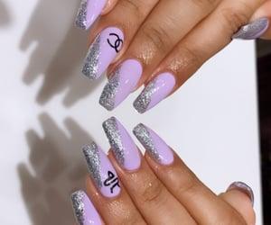 art, girly, and nail love image