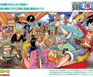 brook, manga, and one piece image