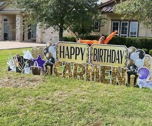 big house, celebration, and birthday mood image
