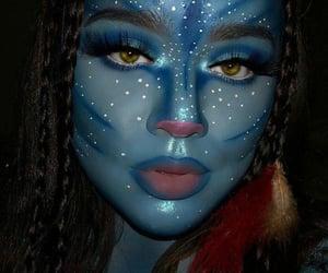 makeup, costume, and Halloween image