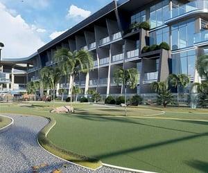 Dubai, samana golf avenue, and golf avenue apartments image