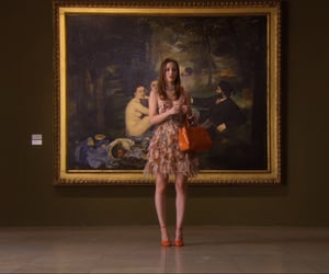 art, paris, and gossip girl image