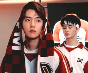 boy, baekhyun, and exo image