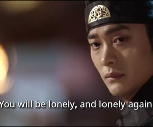 drama, sad, and subtitles image