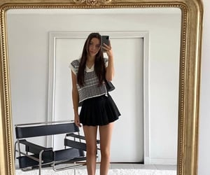 aesthetic, girly, and outfit image