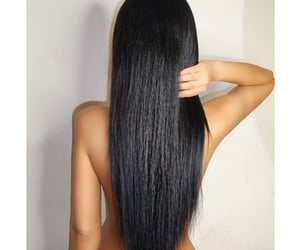 beautiful, hairstyle, and black image