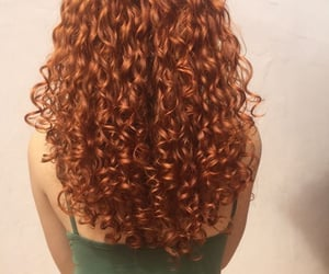 beauty, fashion, and ginger hair image
