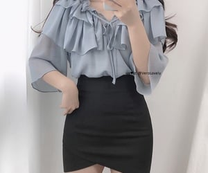 fancy, skirt, and ulzzang image