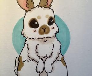 adorable, art, and bunny image