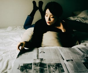 asia, bedroom, and portrait image