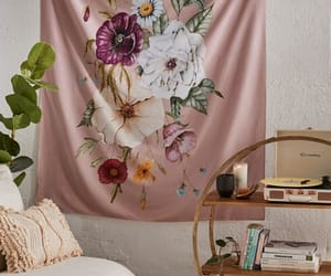 home decoration, tapestry, and wall art image