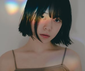 asia, portrait, and short hair image