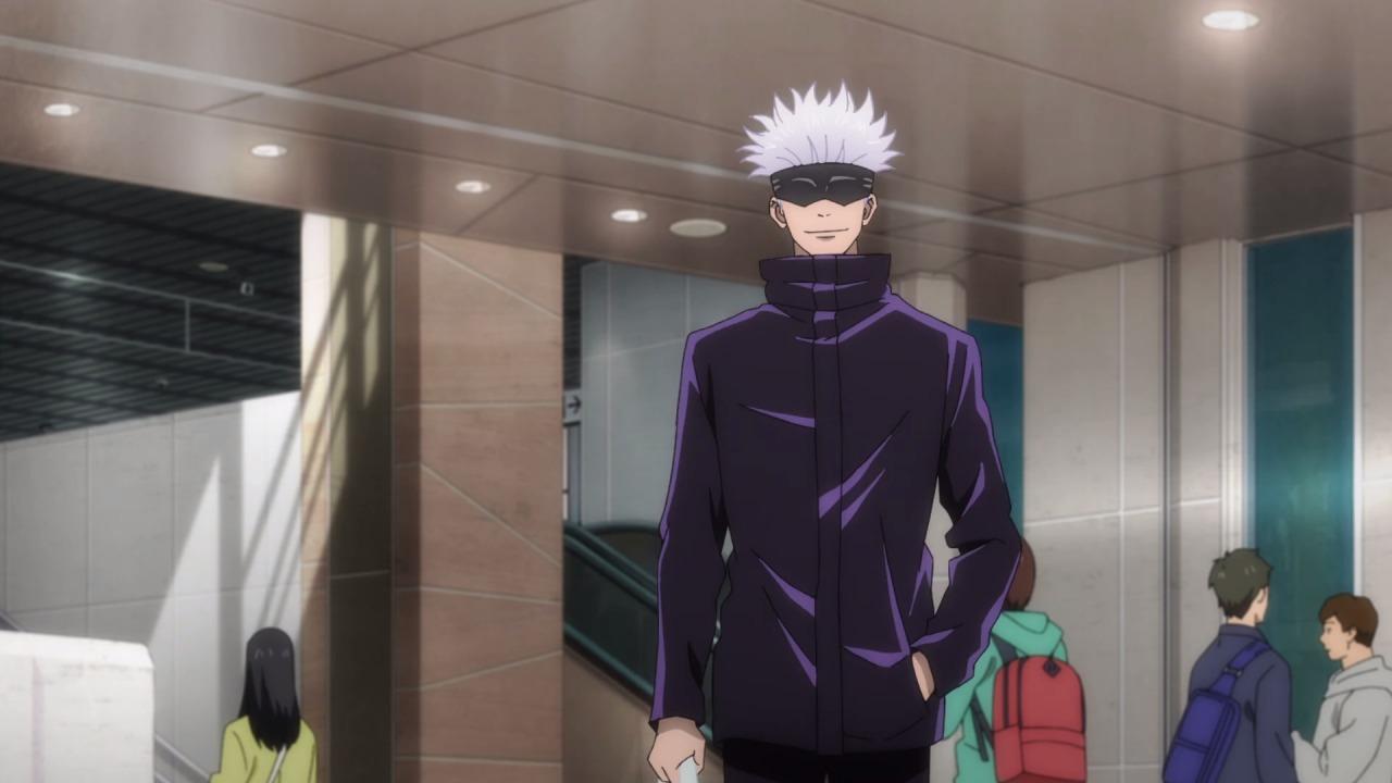 anime, jujutsu kaisen, and anime boy image