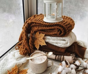 coffee, book, and cotton image