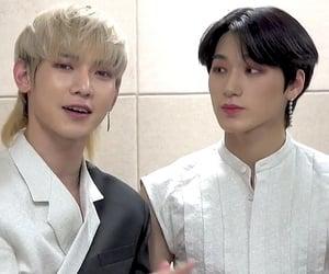 san, kang yeosang, and choi san image