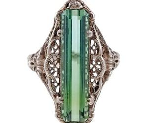 antique, sapphire, and diamond image