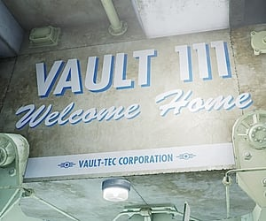 fallout 4, fallout, and vault 111 image